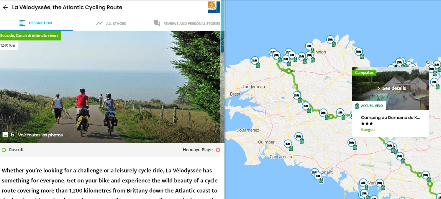 Plan your cycle trip in France