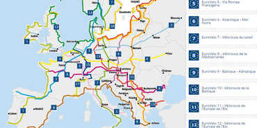 France Vélo Tourisme: All cycling routes in France