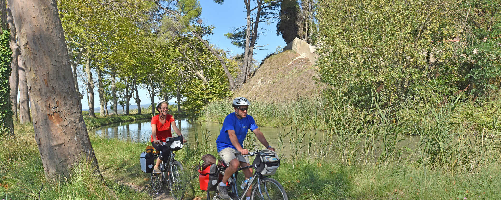 Fonkelnieuw The Canal du Midi by bike from Carcassonne to the Mediterranean Sea DT-48