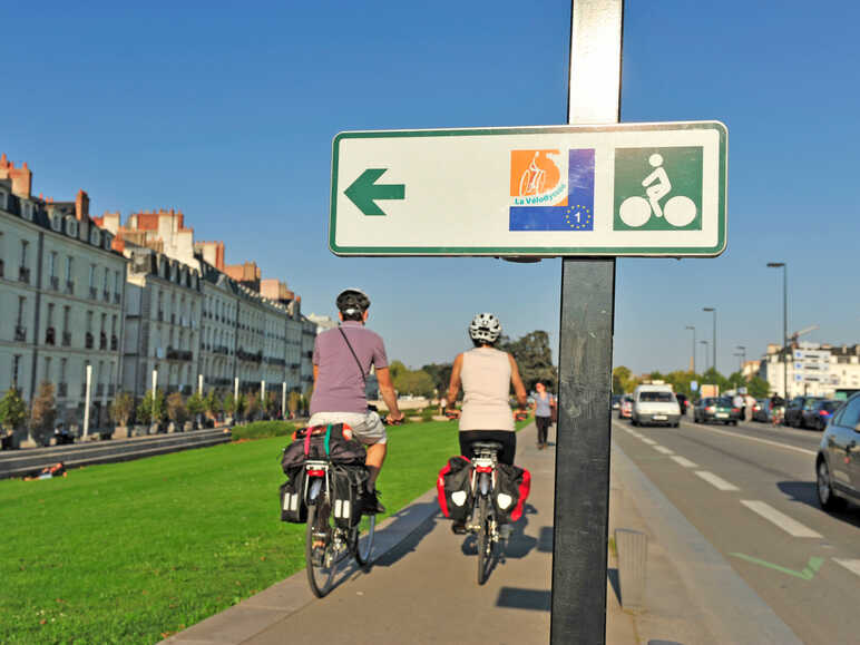 "Signposting of ""EuroVelo"" routes"